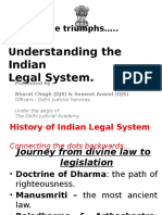 Presentation on the Indian Legal System