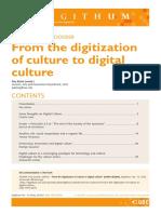 Alsina, Pau. 'From the Digitization of Culture to Digital Culture',