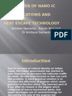 An Analysis of Nano Ic Engines,