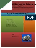 Magmatismo y Rocas Ígneas