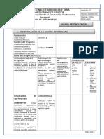 Guia de Aprendizaje ASISTENCIA ADMINISTRATIVA -Producir Documentos - 08-2016