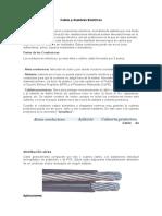 Cables y Alambres Electricos