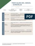 CV Organized