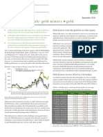 Investment Insights Gold Does Not Equal Gold Miners