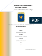 Geoquímica Exploración Petrolera. Parámetros Para La Evaluación de Cuencas