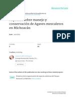 2015, IsBN 978-607-811-643-0, Martínez-Palacios a., J.L. Morales y S. Guillén Agaves Mezcaleros Michoacan
