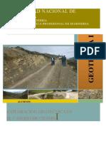 Exploración Geotécnica en El Caserío de Chamis (2)
