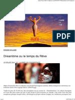 Dreamtime Ou Le Temps Du Rêve _ Toison d'Or