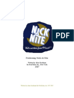 Positioning Nick-at-Nite