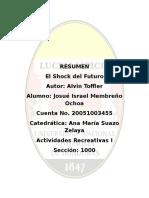 El Shock del Futuro - Alvin Toffler.doc