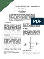 Michelson Interferometer