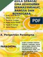 Pancasila Sebagai Paradigma Kehidupan Dalam Bermasyarakat, Berbangsa