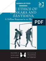 (Dialogues in South Asian Traditions_ Religion, Philosophy, Literature and History) Warren Lee Todd-The Ethics of Sankara and Santideva_ a Selfless Response to an Illusory World-Routledge (2013)