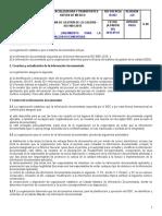 ID-004 Lineamiento Para La Información Documentada