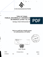 Familia, Desarrollo y Dinamica de Poblacion 1991