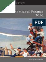 Economics & Finance 2016