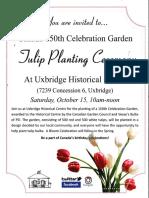 Canada 150th Celebration Garden Poster