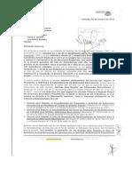 Carta Súmate a CNE Solicitud de Regionales y Normas Revocatorios.04-10-2016