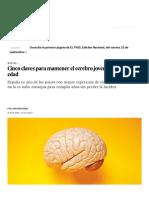 Cinco Claves Para Mantener El Cerebro Joven Sea Cual Sea Su Edad _ BuenaVida _ EL PAÍS