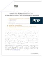Criterios sobre Contratos y Concesiones públicas