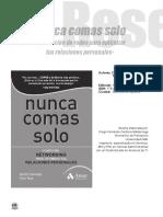 NUNCA COMAS SOLO - KEITH FERRAZI.pdf
