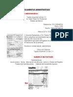 Documentos Adminitrativos