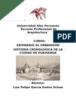 Historia Cronologica de La Ciudad de Huamanga - Ayacucho