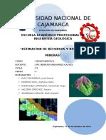 Geoestadística-estimacion de Recursos y Reservas Mineras
