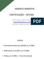 Treinamento Mikrotik - Nat