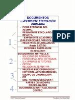 Documentos Expediente Educ. Primaria
