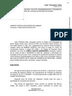 Habeas Corpus - Excesso de Prazo - Art. 306