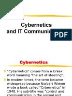 Lect 4 Cybernetics