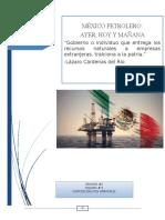 México y el petroleo
