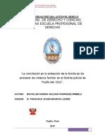 Rodriguez Sandra Conciliación Protección Violencia Familiar