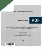 61923 Developpement Et Mise en Place Du Systeme d Information Au Sein de La Direction Des Achats de La Lyonnaise de Banque