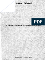 l. Alonso Schökel_la Palabra Inspirada. Ediciones Cristiandad, Madrid, 1986.