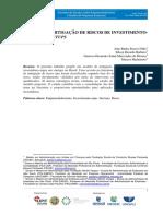 Modelo de Mitigação de Riscos de Investimentoanjo