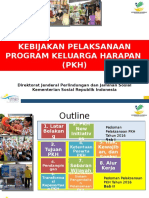 Kebijakan Pelaksanaan PKH 2016