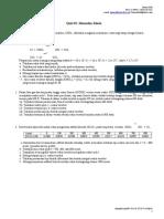 Dinamika Kimia-quiz 01