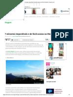 7 Mirantes Imperdíveis e de Fácil Acesso No Rio de Janeiro _ Catraca Livre