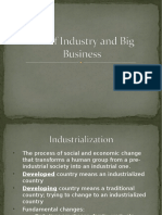 rise of industry and big business ppt revised