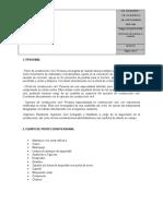 PECOSAR-OP-002 –Eliminación de Material Remanente