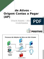 Adição de Ativos - Integração AP