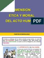 Moral 5 Dimension Etica y Moral Del Acto Humano