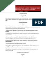 PRAVILNIK o Uslovama i Nacinu Gajenja Pcela 2010
