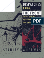 Hauerwas Dispatches From the Front Theology