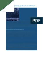 Cálculo de La Atenuación Por Lluvia en Un Radioenlace
