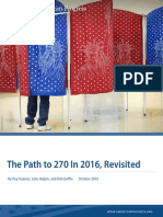 The Path to 270 In 2016, Revisited