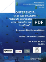 Nuevo Cartel Conferencia Física de Partículas