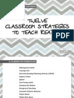 12 Classroom Strategies